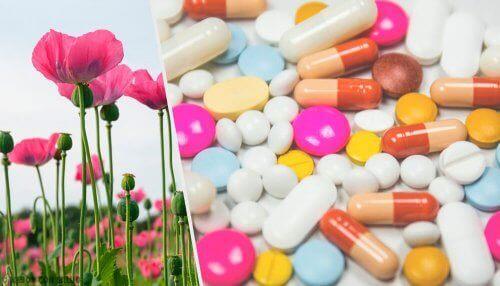 Opioidit ovat yleisiä lääkkeitä syövän hoidossa.