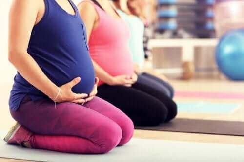 Pilates raskauden aikana