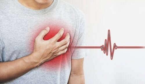 häiriö sydämessä