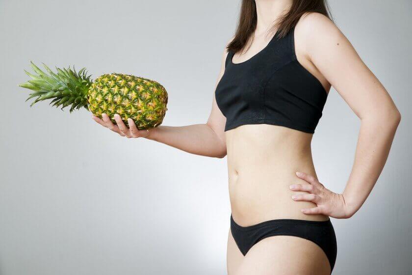 Ananas ja painonhallinta.