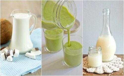 Vihreät smoothiet auttavat meitä sisällyttämään hedelmiä ja vihanneksia jokapäiväiseen rutiinimme ilman sen suurempaa vaivaa