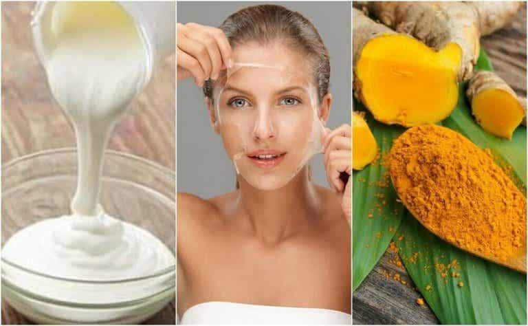 Kasvojen ihokarvojen poisto 4 luontaistuotteella