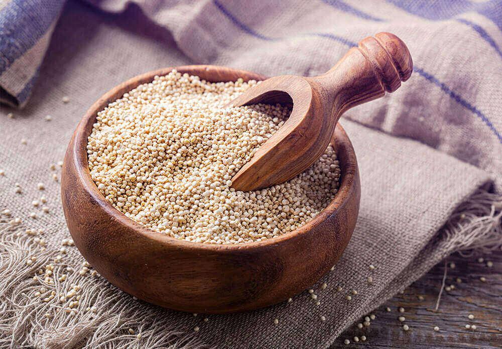 Kvinoasta voi valmistaa kasvonaamion ihonhoitoon