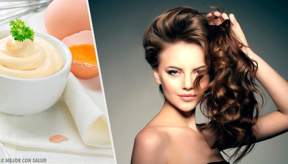 Majoneesia sisältävät hiusnaamiot: 5 tehokasta hoitoa