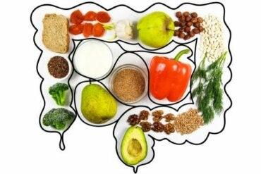 Hoida suolta puhdistavan ruokavalion avulla