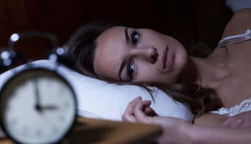 Nainen ei saa unta.