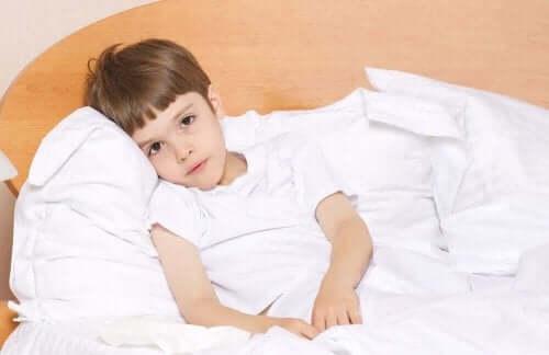 Aneeminen lapsi voi väsyä herkästi