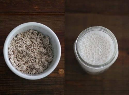 Oreganolla maustettu vegaanijuusto valmistuu fermentoidusta kasvimaidosta
