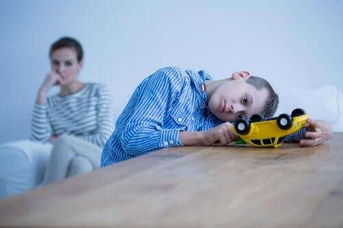 Mielenterveyshäiriöt lapsilla ja niiden oireet