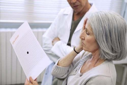 Silmänpohjan ikärappeuma voidaan havaita näöntutkimuksessa