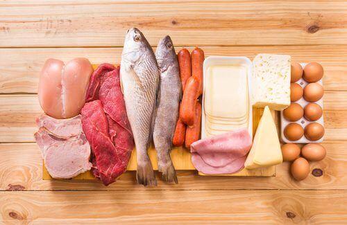Proteiinipitoisten tuotteiden tulisi olla tärkeä osa keliaakikon päivittäistä ruokavaliota