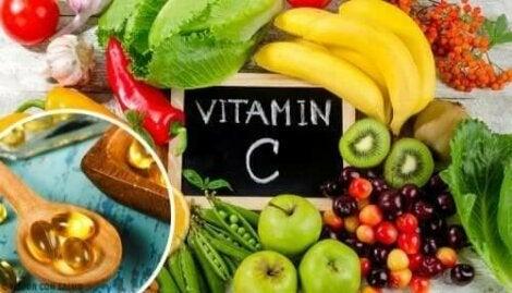 C-vitamiini on vesiliukoinen vitamiini