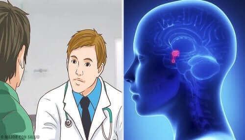 Aivolisäkkeen adenooma.