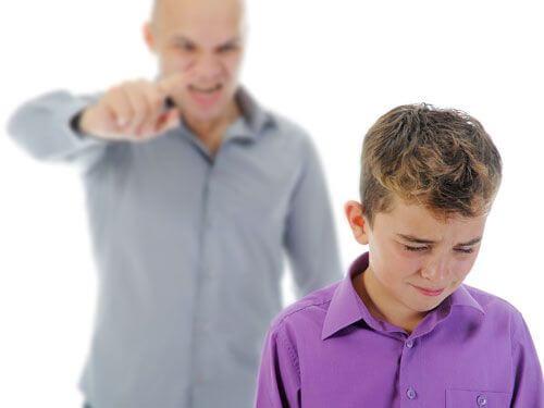 Lapselle huutaminen saa lapsessa aikaan stressireaktion, joka voi pitkällä aikavälillä johtaa masennukseen, alhaiseen itsetuntoon ja jopa itsetuhoiseen käyttäytymiseen