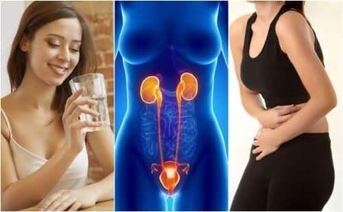 Virtsatietulehdukset ovat naisilla yleisempiä kuin miehillä