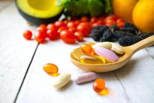 Vesiliukoiset vitamiinit ja niiden tehtävät