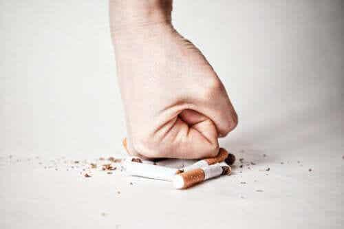 Tupakasta irti pääseminen vaihe vaiheelta