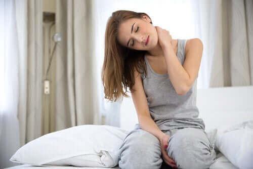 Ahdistus voi aiheuttaa lihaskipua