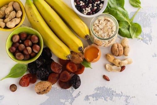 Ruokien sisältämät mineraalit ovat avuksi terveyden ylläpidossa.