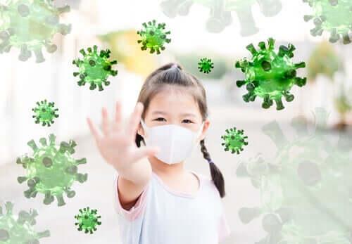 Resilienssi lapsilla auttaa pandemian yli