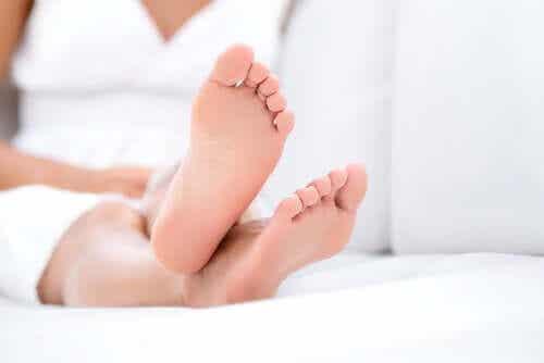 Jalkojen hoito karanteenin aikana