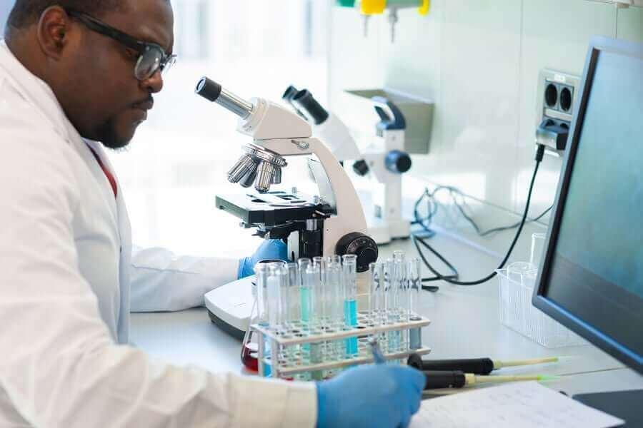 Viruskuorma selvitetään laboratoriossa.