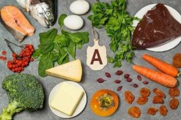 A-vitamiinin tehtävät elimistössä