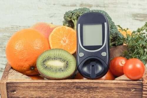 Glukoosi on sokeri, jota on luontaisesti hedelmissä