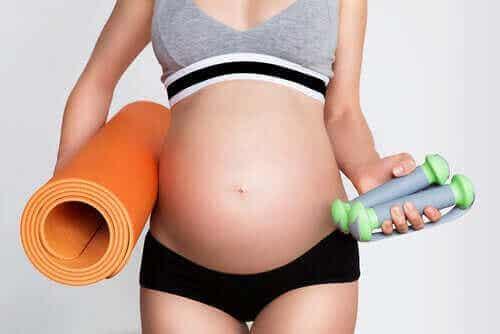 Liikunta raskauden aikana: huomioitavaa