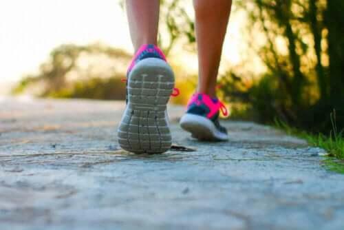 Suonikohjujen ehkäisemiseksi voi valita erilaisia liikuntamuotoja, kuten kävelyn