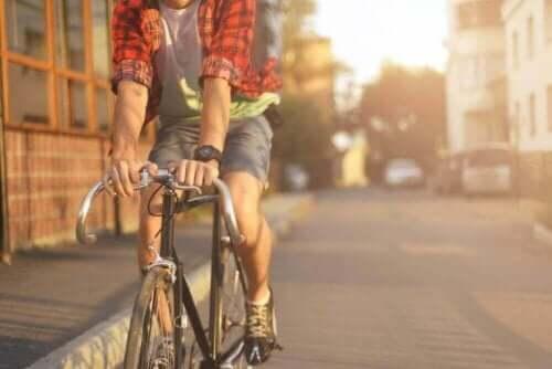 Pyöräily on hyvä liikuntamuoto suonikohjuihin