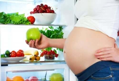 Ruokavalion merkitys raskauden aikana on merkittävä.