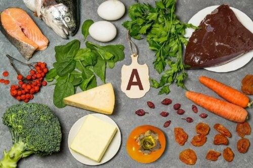 A-vitamiinin päivittäinen suositus riippuu iästä ja sukupuolesta