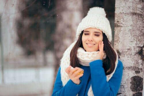 Rasvaisen ihon hoito talvella
