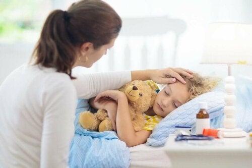 Lasten nokkosihottuma on merkittävä allerginen reaktio, joka levittäytyy laajoille ihoalueille