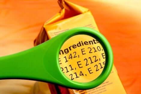 Ruokien lisäaineet voivat vaikuttaa elimistöön haitallisesti