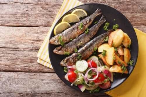 Sardiinin hyödyt terveydelle: 3 syytä syödä niitä