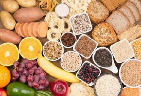 Monimutkaiset hiilihydraatit ovat tärkeitä ruokavaliossa