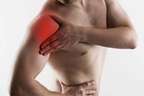 Olkapään jännetulehdus voi estää käden liikuttamisen