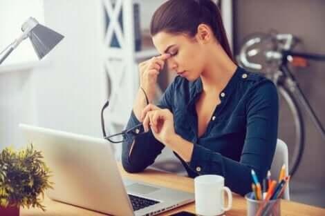 Päivittäinen stressi voi aiheuttaa masennusta