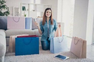 4 merkkiä siitä, että olet koukussa shoppailuun