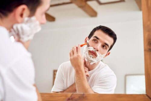 Parranajossa tulisi käyttää omalle ihotyypille sopivia tuotteita