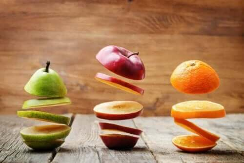 Makeannälkä kannattaa taltuttaa hedelmillä
