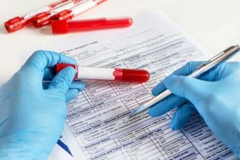 Verikokeen avulla voidaan diagnosoida sairauksia