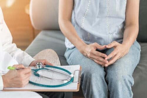 Vaihdevuosien aikana esiintyvä endometrioosi