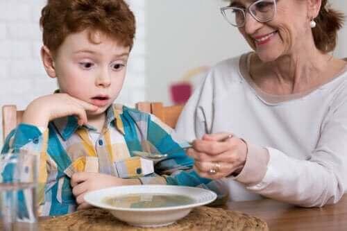 Autistilasten syömishäiriöt