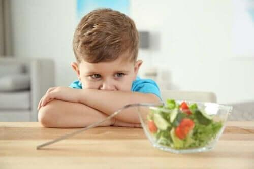 Autistilasten syömishäiriöt ovat tavallisia.