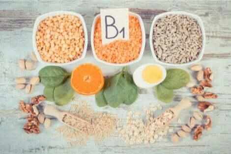 B-ryhmän vitamiineja tulee saada päivittäin