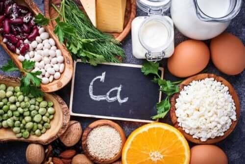 Kalsium on yksi kivennäisaineista