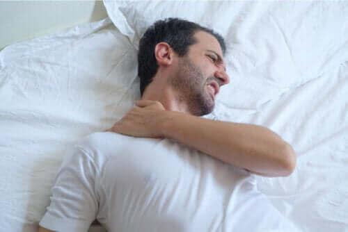 Olkapään jännetulehdus ja nukkuminen